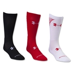 Under Armour Armour Crew 3 Pack Sock (White)