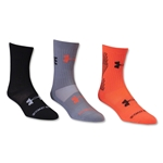Under Armour Rise Above the Rest Sock (Orange)