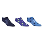 Under Armour Girls Liner No Show Sock (Multi)