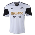 Swansea City 13/14 Home Soccer Jersey