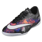 Nike Mercurial Victory V CR IC Junior (Black/White/Total Crimson)