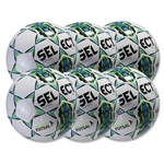 Select Futsal Jinga 2015 Senior 6 Pack Ball (White)