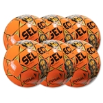 Select Futsal Jinga 2015 Junior 6 Pack Ball (Orange)