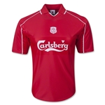 Liverpool 2000 Home Soccer Jersey