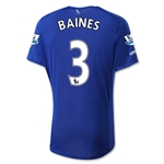 Everton 15/16 BAINES Home Soccer Jersey