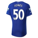 Everton 15/16 JONES Home Soccer Jersey
