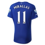 Everton 15/16 MIRALLAS Home Soccer Jersey