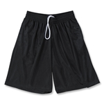 Yale Mesh 3 Pocket Coach's Lacrosse Shorts (Black)