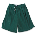 Yale Mesh 3 Pocket Coach's Lacrosse Shorts (Dark Green)