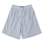 Yale Mesh 3 Pocket Coach's Lacrosse Shorts (Gray)