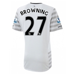 Everton 15/16 BROWNING Away Soccer Jersey