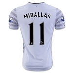 Everton 15/16 MIRALLAS Away Soccer Jersey