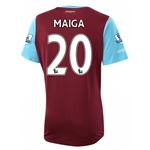 West Ham 15/16 MAIGA Home Soccer Jersey