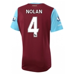 West Ham 15/16 NOLAN Home Soccer Jersey