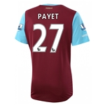 West Ham 15/16 PAYET Home Soccer Jersey