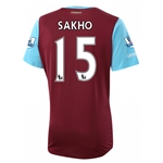 West Ham 15/16 SAKHO Home Soccer Jersey