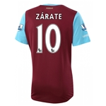 West Ham 15/16 ZARATE Home Soccer Jersey