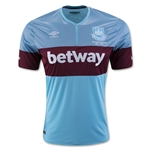 West Ham 15/16 Away Soccer Jersey