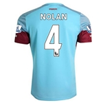 West Ham 15/16 NOLAN Away Soccer Jersey