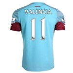 West Ham 15/16 VALENCIA Away Soccer Jersey