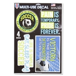 Multi-Use Multi-Surface Soccer Decals