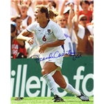 Steiner Sports Brandi Chastain Running Back to Team After Game Winning Goal 8x10 Photo
