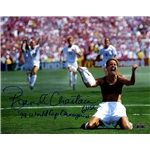 Steiner Sports Brandi Chastain Signed PK Celebration 8x10 Photo Horizontal