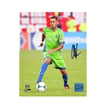 Steiner Sports Clint Dempsey Signed Seattle Sounders Dribbling 8x10 Photo