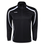 Catenaccio 1/4-Zip Training Jacket (Black)