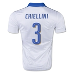Italy 15/16 CHIELLINI Away Soccer Jersey