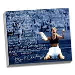 Steiner Sports Brandi Chastain Facsimile Winning World Cup