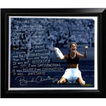 Steiner Sports Framed 22x26 Brandi Chastain Facsimile Winning World Cup