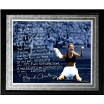 Steiner Sports Framed 16x20 Brandi Chastain Facsimile Winning World Cup
