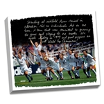 Steiner Sports Mia Hamm Facsimile Winning World Cup 22x26 Stretched Canvas