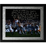 Steiner Sports Framed 16x20 Mia Hamm Facsimile Winning World Cup