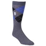Chelsea Lion Argyle Sock