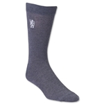 Chelsea Lion Crest Sock (Grey)