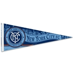 New York City FC 12 x 30 Pennant