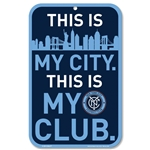 New York City FC 11 x 17 Door Sign