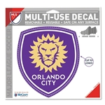 Orlando City 5 x 6 Decal