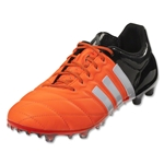 adidas Ace 15.1 FG/AG Leather (Solar Orange/White)