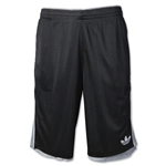 adidas Originals Basketball Mesh Short (Blk/Grey)