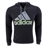 adidas Go-To Performance Fleece Hoody (Black)