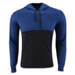 adidas Ultimate Fleece Pullover Hoody (Blue)