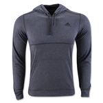 adidas Ultimate Fleece Pullover Hoody (Dk Gray)