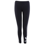 adidas Women's 3 Stripes Legging (Black)