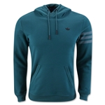 adidas Sport Luxe Fleece Hoody (Green)