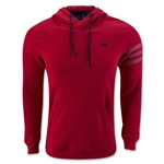 adidas Sport Luxe Fleece Hoody (Red)