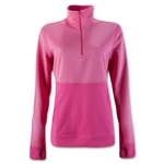 adidas Limitless Half Zip Women's Jacket (Pink)