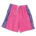Yale Women's 2-play Mesh Short w/ Panel (Fuchsia)